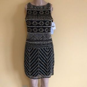 Aidan Mattox  beaded cocktail dress size 2